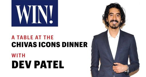 WIN! A table at the Chivas Icons dinner