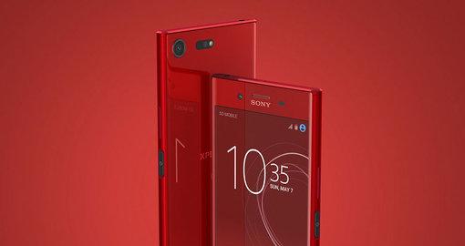 Win a Sony Xperia XZ Premium Rosso right here