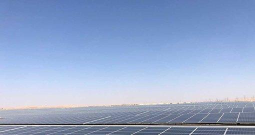 World's largest solar farm opens in Abu Dhabi