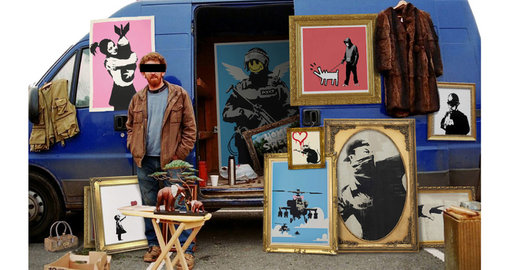 Banksy's online shop is officially open for business and it's affordable