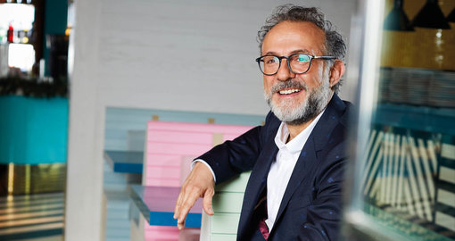 Culinary genius Massimo Botturais in Dubai and won't rest until we're all part of his cultural revolution