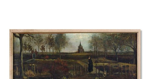 During lockdown, someone stole a very expensive Van Gogh painting