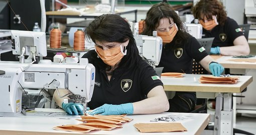Lamborghini starts production of surgical masks, medical shields for use in Coronavirus pandemic