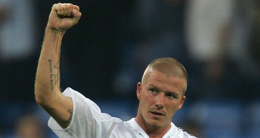 Another reason to get a lockdown buzzcut? David Beckham
