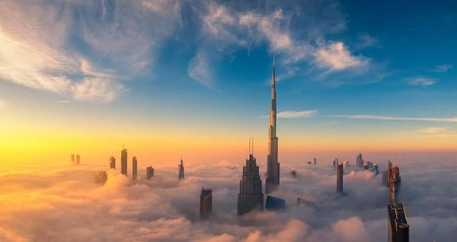Gorgeous photos of Dubai engulfed in fog that will blow you away