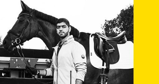Emirati Mohamed Jassim Al Serkal on Olympic dreams and dressage