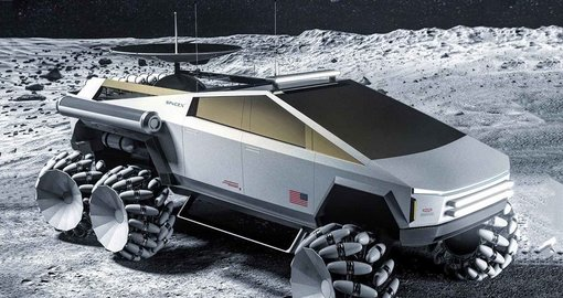 NASA x Tesla Cybertruck concept looks mean as hell