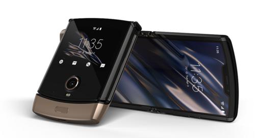 Motorola's RAZR now comes in gold