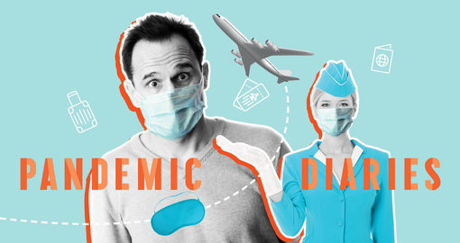 Pandemic Diaries: What it's like to fly during the pandemic lockdown