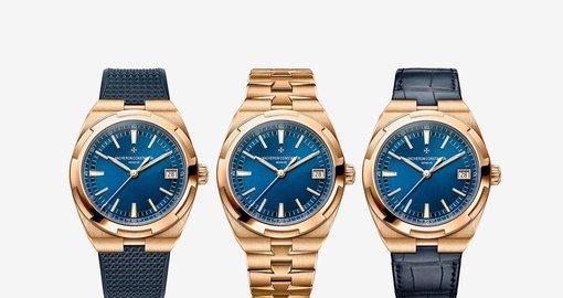Vacheron Constantin release new Overseas in pink gold