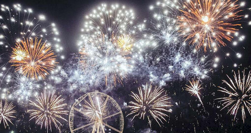 Where to watch the fireworks in Dubai for National Day 2020