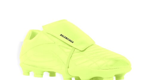 Balenciaga's new 'soccer' sneaker are meant to be worn off the pitch