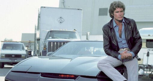 David Hasselhoff is auctioning off his personal Knight Rider car
