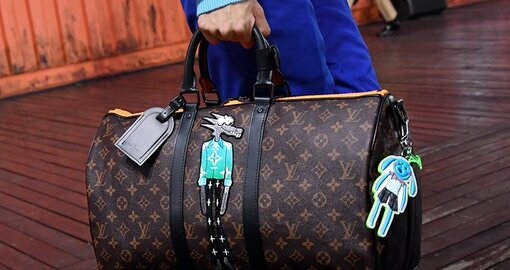 """LV wants you to """"Zoooom with friends"""" for its men's SS21 accessories collection"""