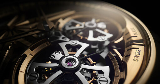 Roger Dubuis's new Excalibur Skeleton Double Flying Tourbillon