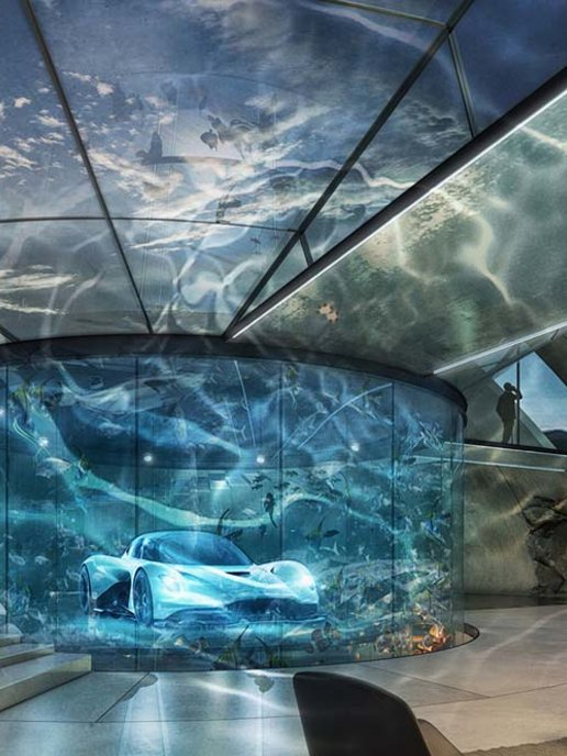 Aston Martin Now Offers A Bespoke Supervillain Lair Service Esquire Middle East