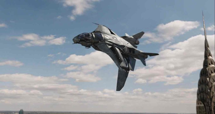 The Pegasus is a real life Avenger's Quinjet