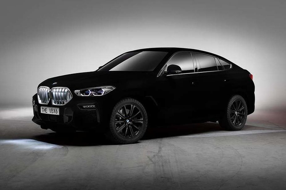 Bmw S X6 Coupe Is Coated With The World S Blackest Black Paint Esquire Middle East