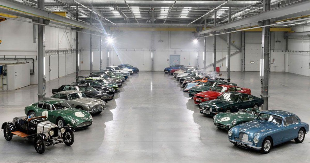 Aston Martin S New Lair Esquire Middle East