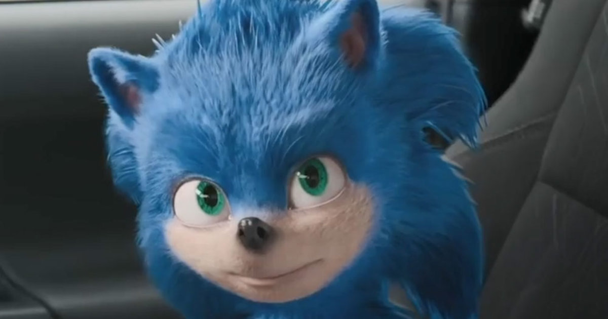 Sonic The Hedgehog Has Been Redesigned For The Live Action Movie