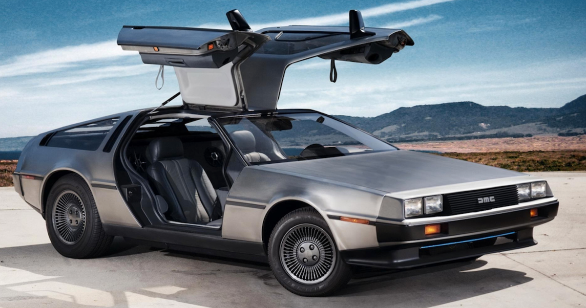 Back to the Future's DeLorean might be making a comeback - Esquire Middle  East