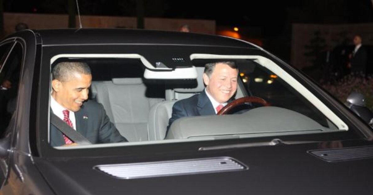 King Abdullah II's car collection is a window into Jordan's royal family