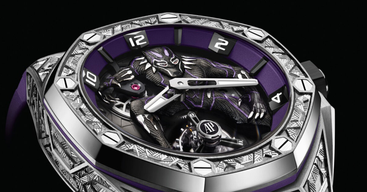 One-of-a-kind Audemars Piguet Black Panther watch sells for $5.2 million -  Esquire Middle East