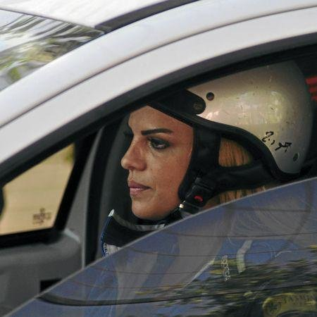Car racing, Palestine, Women