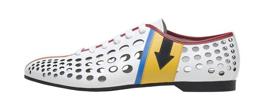 Prada shoe, Dhs3,500