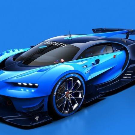 Bugatti, Bugatti Vision Gran Turismo, Cars, Frankfurt motor show, Gran Turismo, Motoring