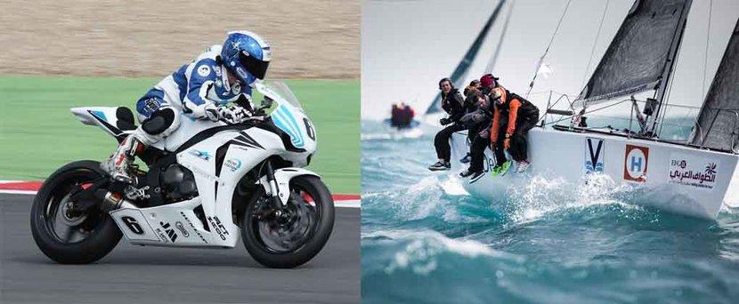 Arabian Gulf, Denis Bouan, Motorbike, Sailing, Sailing Arabia, Tour de France Moto