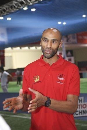 Dubai Sports World, Dubai World Trade Centre, Frederic Kanoute, KAFO Academy, Kanoute Cup, Olympique Lyonnais, World Cup 2014