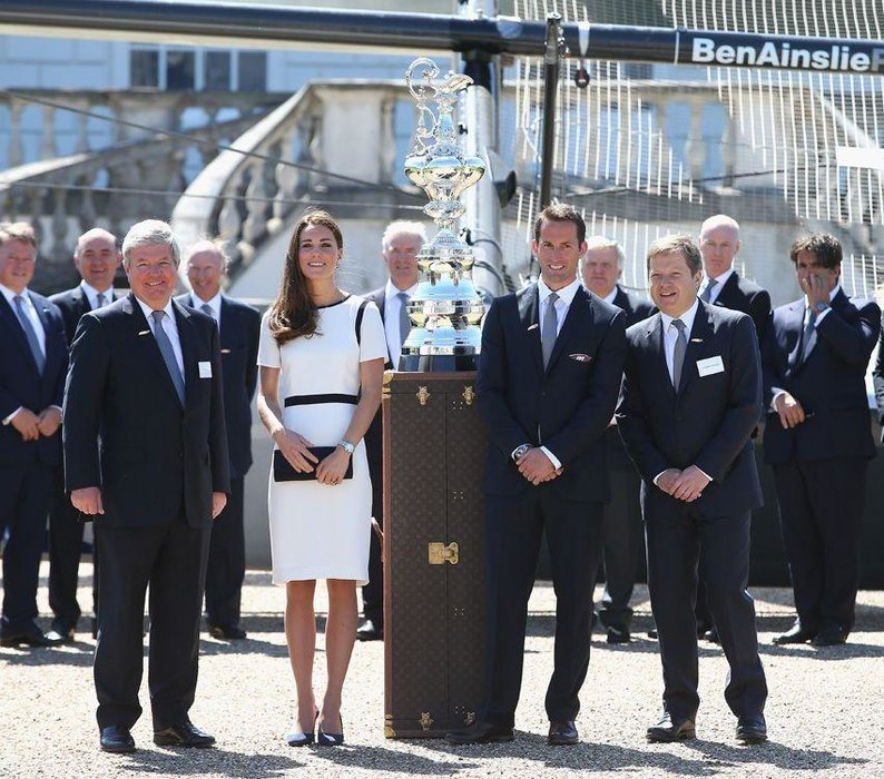 America's Cup, Boats, Duchess of Cambridge, Kate Middleton, Major championship, Royal family, Sailing, Sir Ben Ainslie, Yachting
