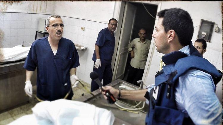 Ayman Moheyldin, Palestine, War reporter