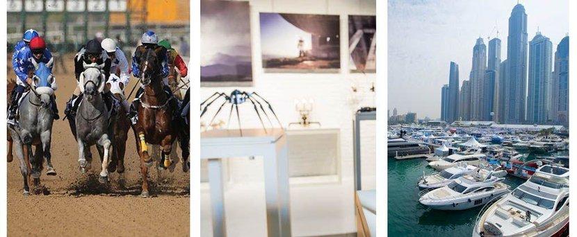 Art dubai, Calendar, Design Days Dubai, Dubai, Dubai World Cup, Elyx bar, Events, International Boat Show, Literature Festival, March, March 2016, Sikka, Taste of Dubai