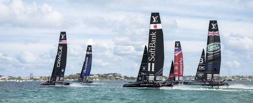 America's Cup, Louis Vuitton, Sports