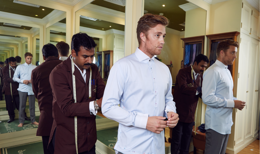 Ascots & Chapels, Getting a suit talored, Tailors in Dubai