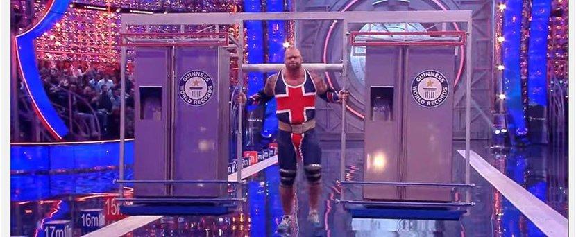 Game of thrones, Strongman, Thor, TV