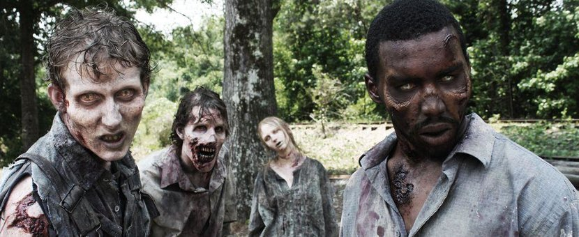 The Walking Dead, Zombies