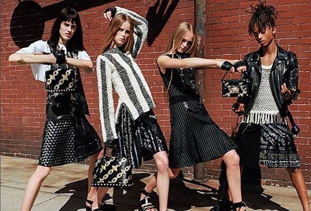 Clothes, Jaden Smith, Louis Vuitton, Menswear, Nicholas Ghesquiere, SS16, Style, Womenswear