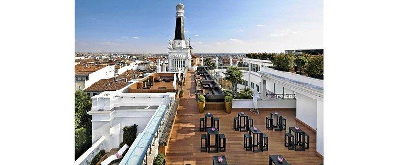 Holiday, Hotel, Madrid, St ana restaurant, Travel