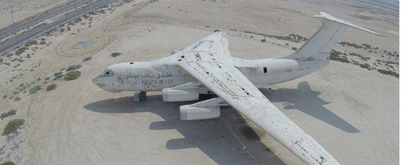Abandoned aircraft, Umm Al Quawain, Plane, Abandoned plane, UAE, Dubai, Deserted, Viktor Bout