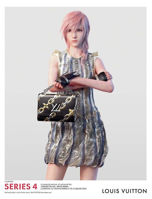 Final Fantasy, Louis Vuitton, Style, Video games