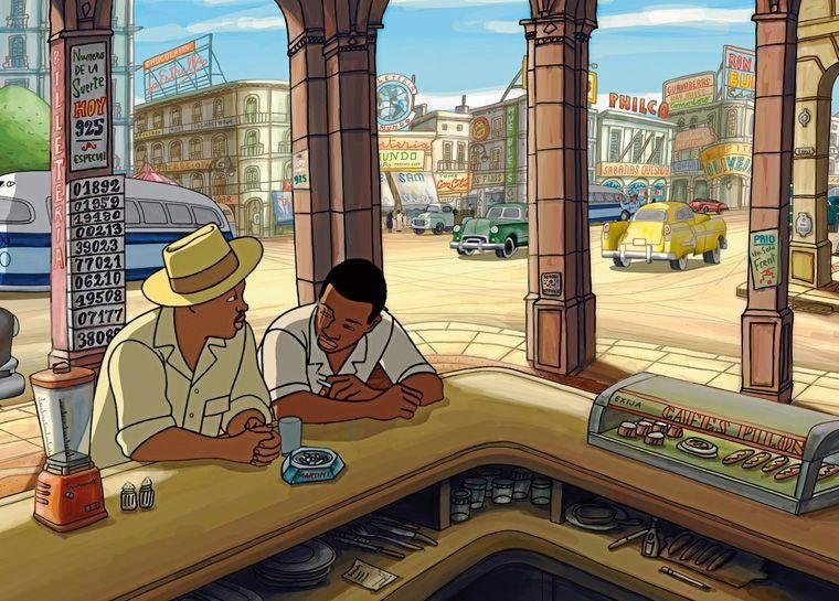 Animation, Audio, Cannes, Chico & Rita, Cinema, Cuba, Film, Jazz, Music, Oscars, Retro