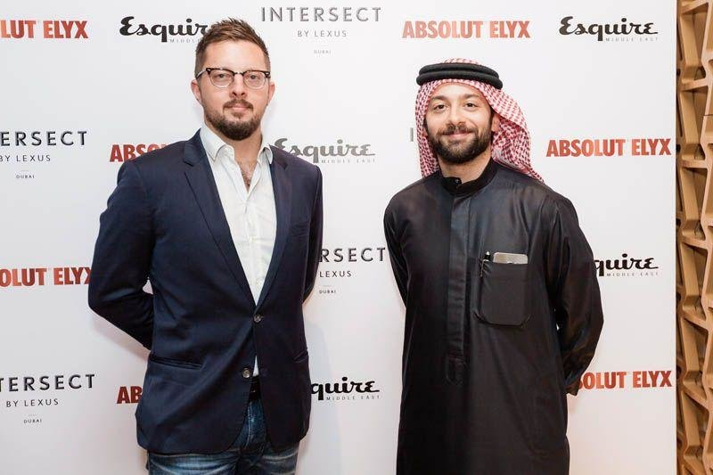 Esquire gentlemen's evening, Esquire event, Intersect by lexus, Absolut Elyx, Event in DIFC, Events in Intersect by Lexus, Intersect by Lexus Dubai, Discussing Design