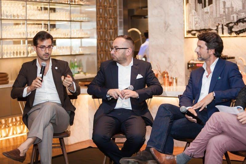 The Discussing Design roundtable panel at Intersect by Lexus, Dubai