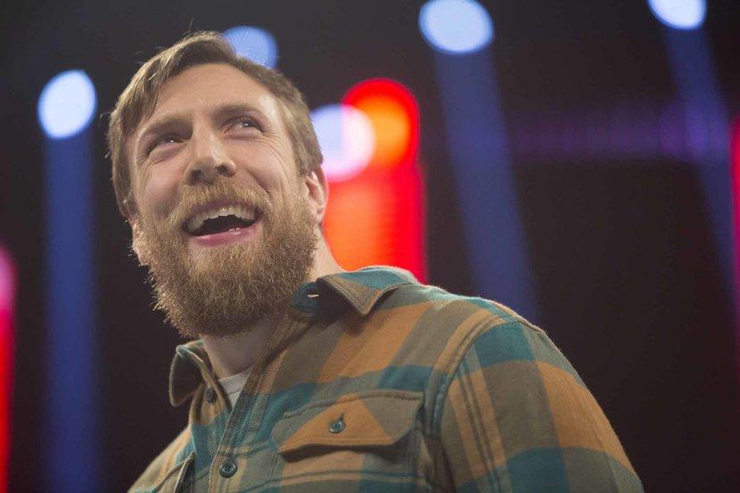 Daniel Bryan, Daniel Bryan interview, WWE, WWE Live Dune Bash, WWE Dubai, Daniel Bryan Dubai