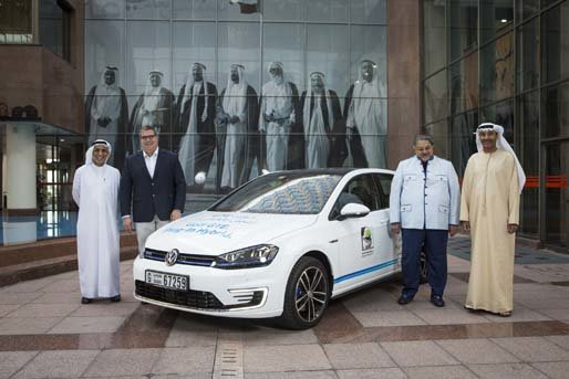 The Dubai Municipality is trialing a fleet of Golf GTE