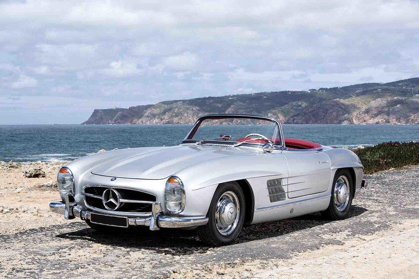 The original 1958 Mercedes SL Roadster