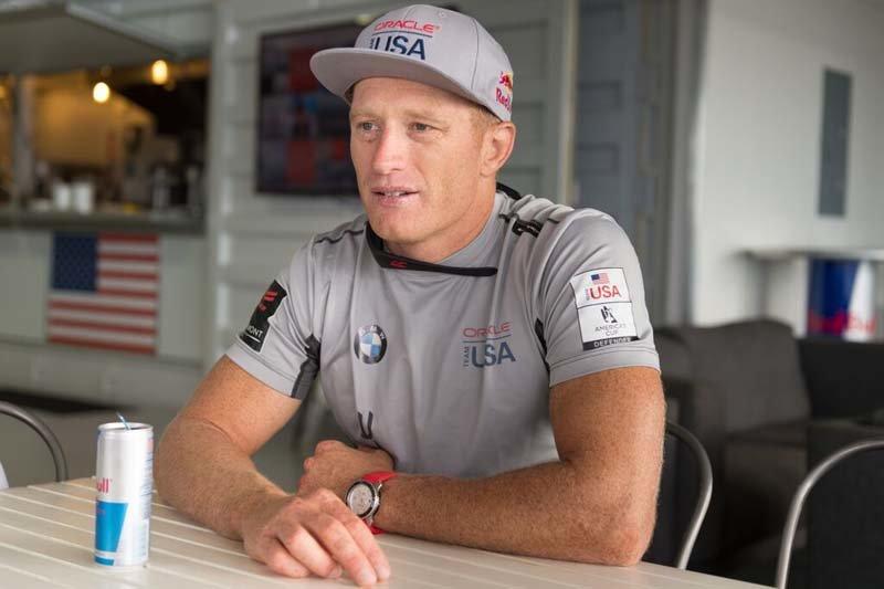 America's Cup, America's Cup Oman, America's Cup Jimmy Spithill, Jimmy Spithill interview, Jimmy Spithill America's Cup